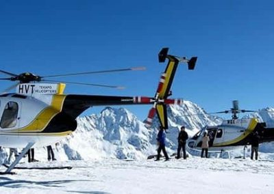 Things to do from Isolation Bay include a scenic flight with Tekapo Helicopters in Lake Tekapo.
