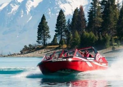 Things to do from Isolation Bay include a day of exciting jet boating on Lake Tekapo with Tekapo Jet.