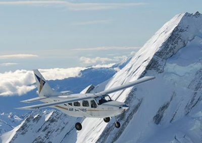 Things to do from Isolation Bay include a scenic flight with Air Safaris in Lake Tekapo.