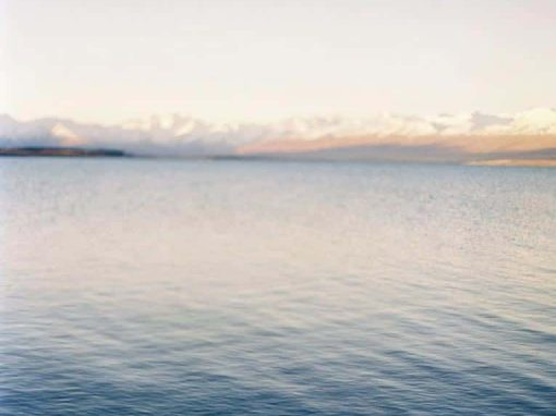 The waters of Lake Tekapo at Isolation Bay.
